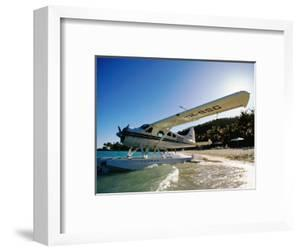 Float Plane on Beach, Hayman Island Resort, Whitsundays, Hayman Island, Queensland, Australia by Holger Leue