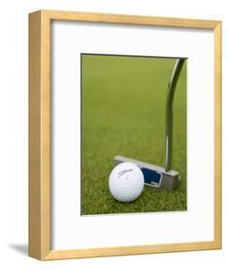 Golf Ball and Club, Crover House Hotel and Golf Course, Lough Sheelin, Ireland by Holger Leue