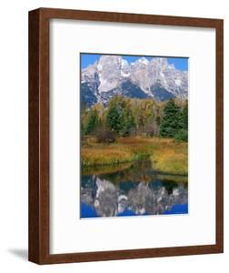 Grand Teton Reflection, Grand Teton National Park, Wyoming by Holger Leue