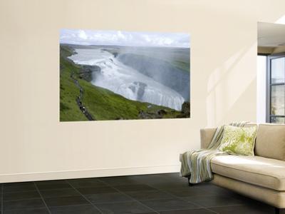 Gullfoss Waterfall on River Hvita