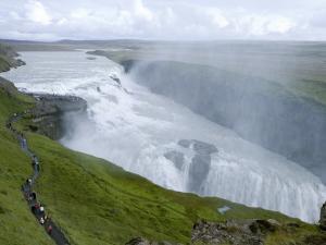 Gullfoss Waterfall on River Hvita by Holger Leue