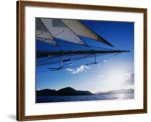 Horizon Seem from Bowsprit Net Star Clipper, Tortola by Holger Leue