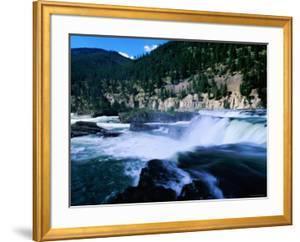 Kootenai Falls, Near Libby, Montana by Holger Leue