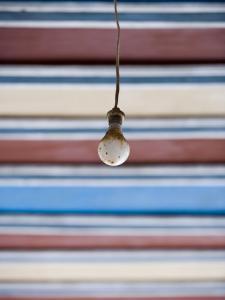 Lightbulb at Palais De La Bahia Palace by Holger Leue