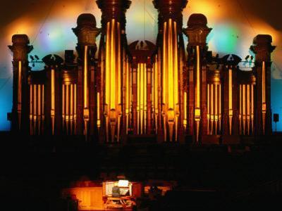 Mormon Tabernacle Organ, Temple Square, Salt Lake City by Holger Leue