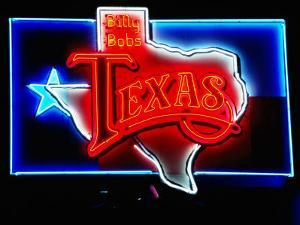 Neon Sign, Billy Bob's Texas Honky Tonk, Fort Worth, Texas by Holger Leue