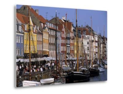 Nyhavn Boats and Cafes, Copenhagen, Denmark