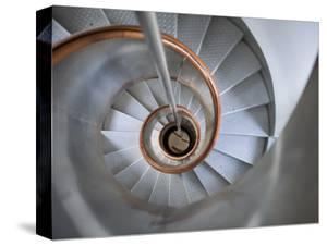Staircase in Capelinhos Lighthouse by Holger Leue