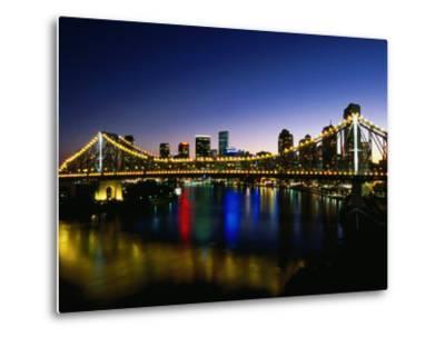 Story Bridge and City Skyline at Night, Brisbane, Queensland, Australia