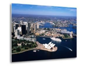 Sydney Harbour, with Opera House and Ms Europa in Centre, Sydney, New South Wales, Australia by Holger Leue