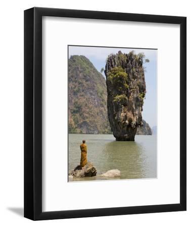 Thai Monk at Ko Phing Kan (James Bond Island)