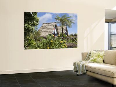 Traditional A-Frame Palheiro Houses