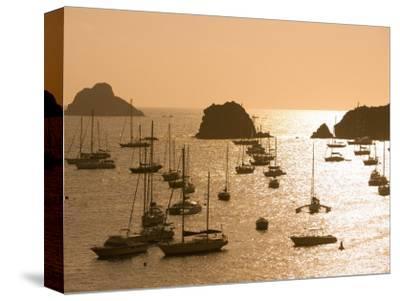 Yachts at Sunset, Gustavia, St. Barts