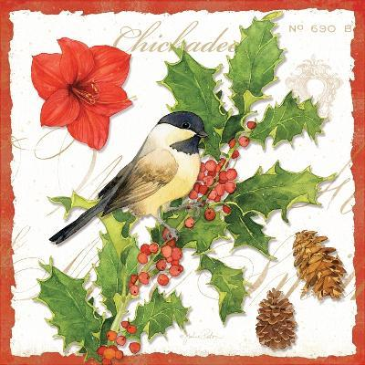 Holiday Birds I-Julie Paton-Art Print