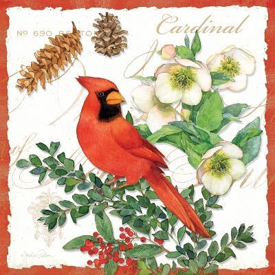 Holiday Birds II-Julie Paton-Art Print
