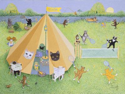 Holiday Camp-Pat Scott-Giclee Print