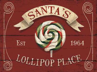 Holiday Candy Shops IV-Jim Wellington-Art Print