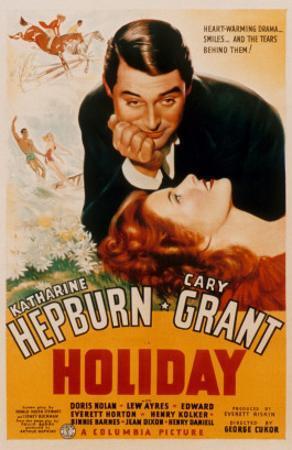 Holiday, Cary Grant, Katharine Hepburn, 1938