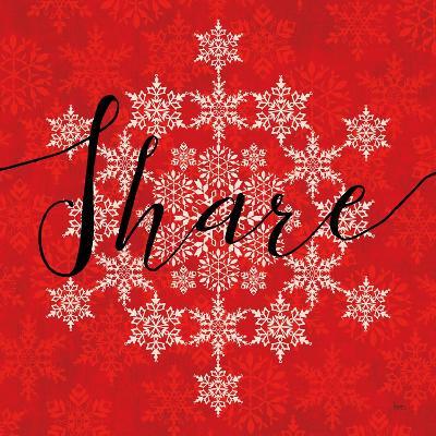 Holiday Charms II Red-Veronique Charron-Art Print