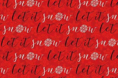 Holiday Charms V Red-Veronique Charron-Art Print