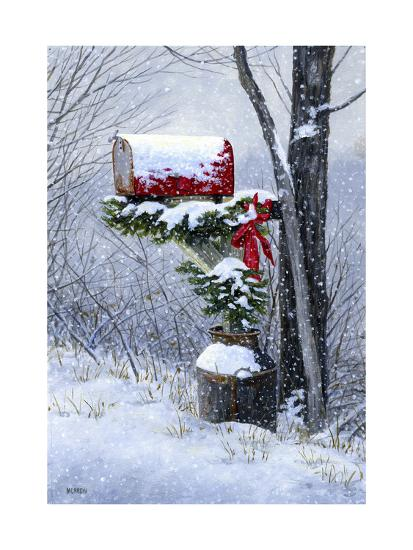 Holiday Delivery-John Morrow-Giclee Print