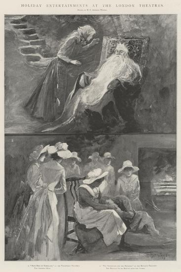 Holiday Entertainments at the London Theatres-Henry Charles Seppings Wright-Giclee Print