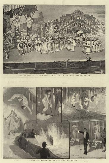 Holiday Entertainments-Charles Joseph Staniland-Giclee Print