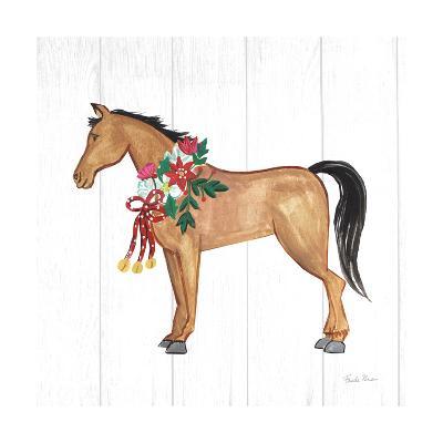 Holiday Farm Animals II-Farida Zaman-Art Print