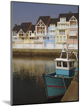 Holiday Flats Overlooking the Port, Deauville, Calvados, Normandy, France-David Hughes-Mounted Photographic Print