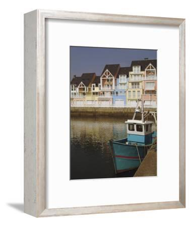 Holiday Flats Overlooking the Port, Deauville, Calvados, Normandy, France-David Hughes-Framed Photographic Print