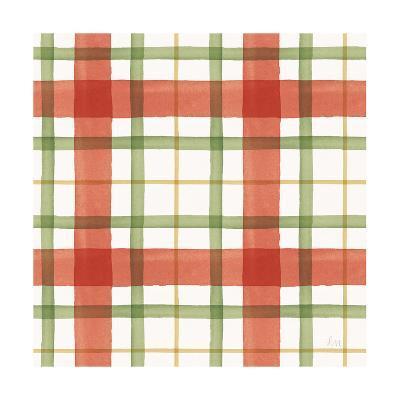 Holiday Garden Pattern X-Laura Marshall-Art Print