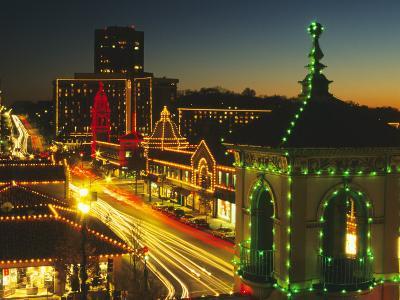 Holiday Lights, Country Club Plaza, Kansas City, Missouri, USA-Michael Snell-Photographic Print