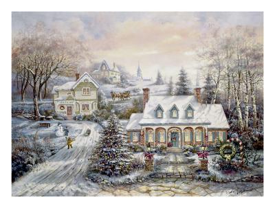 Holiday Magic-Carl Valente-Art Print