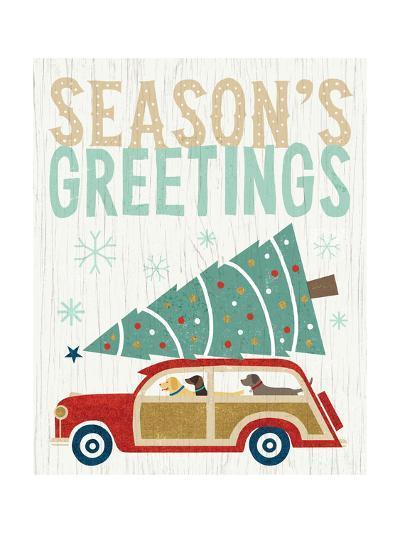 Holiday on Wheels II v2-Michael Mullan-Art Print