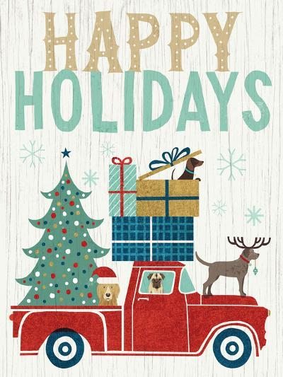 Holiday on Wheels III v2-Michael Mullan-Art Print