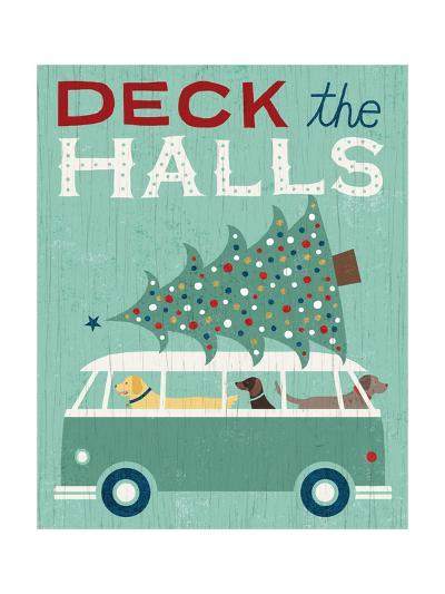 Holiday on Wheels IV-Michael Mullan-Art Print