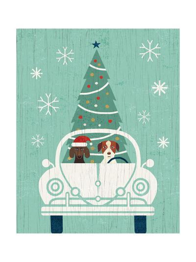 Holiday on Wheels XIII-Michael Mullan-Art Print