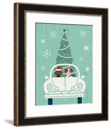 Holiday on Wheels XIII-Michael Mullan-Framed Art Print