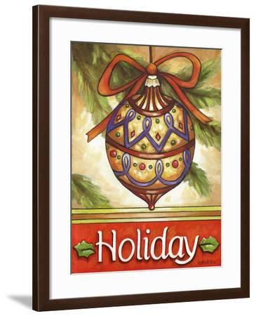 Holiday Ornament-Cathy Horvath-Buchanan-Framed Giclee Print