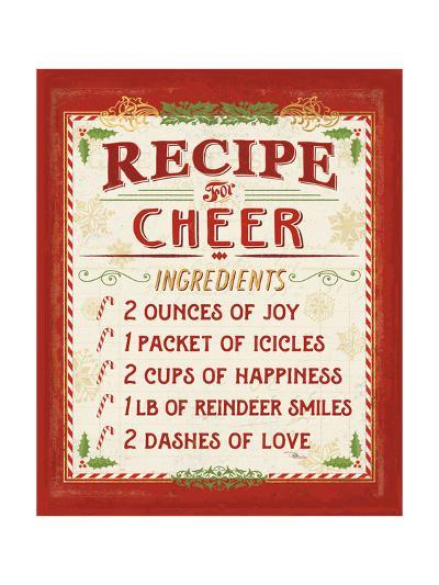 Holiday Recipe I-Jess Aiken-Art Print