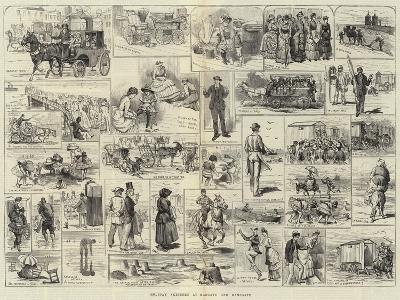 Holiday Sketches at Margate and Ramsgate-Alfred Courbould-Giclee Print