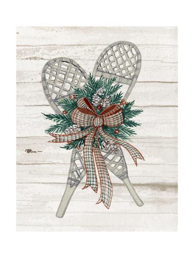 Holiday Sports on Wood III Luxe-Kathleen Parr McKenna-Art Print