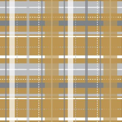 Holiday Yellow Plaid-Joanne Paynter Design-Giclee Print