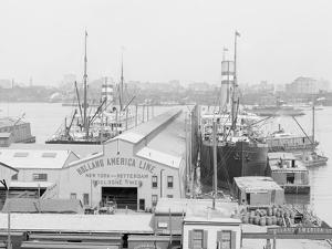 Holland America Piers, Hoboken, N.Y. I.E. N.J.
