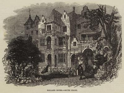 Holland House, South Front--Giclee Print
