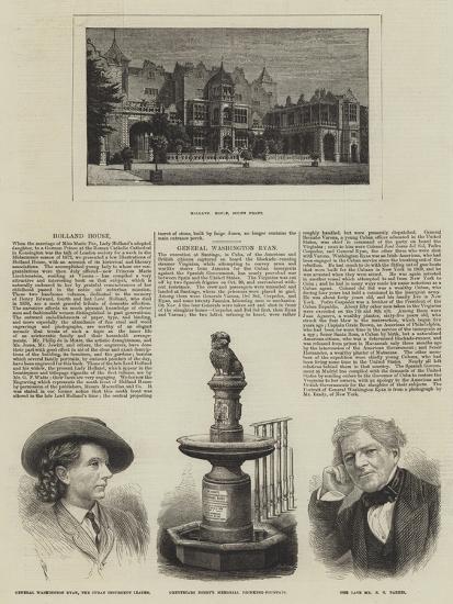 Holland House--Giclee Print