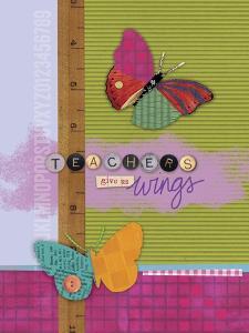 Butterfly Teacher 2 by Holli Conger
