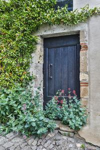 France, Cordes-sur-Ciel. Blue doorway by Hollice Looney