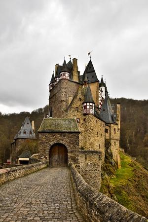 Germany, Rhineland-Palatinate, Cochem, Eltz Castle