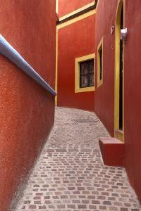 Mexico, Guanajuato, Orange Alley by Hollice Looney